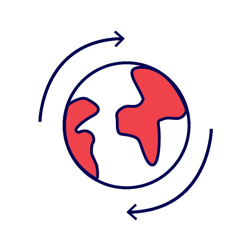 Global Integration Icon